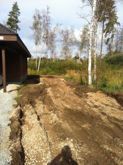maastikuehitus tulevane muruplats